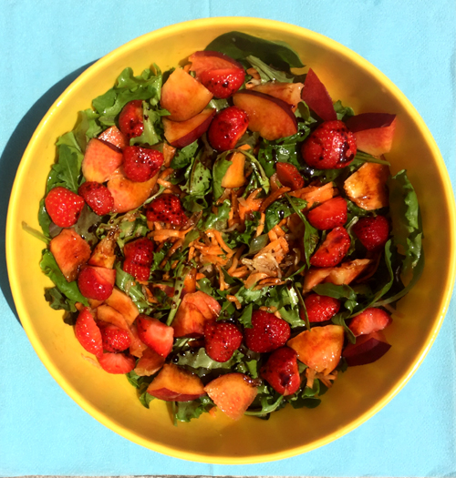 insalata di frutta e verdura