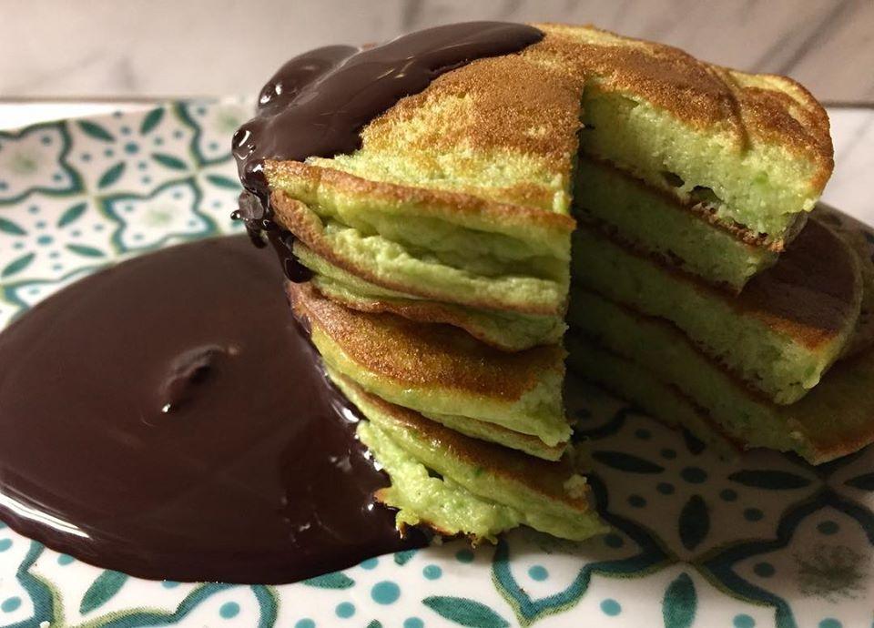 pancake all'avocado